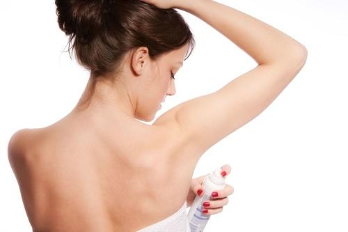 Aşırı terleme deodorant kullanımı